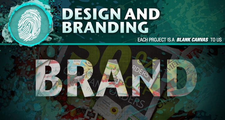 Design & Branding; each project is a blank canvas to us.