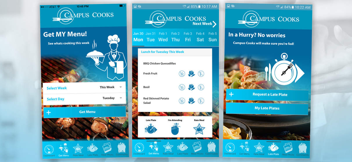 Campus Cooks Mobile App Development2